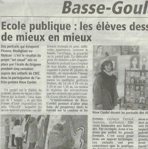 Vignette  Article le grignon 2012